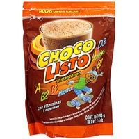 Choco Listo Powder Mix To Prepare Instant Chocolate Drink W/Vitamins And Minerals Food Product Image