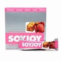 Soyjoy Whole Soy & Fruit Bar Baked, Strawberry Food Product Image