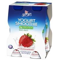 Lala Strawberry Yogurt Smoothie Food Product Image