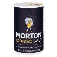 Morton Iodized Salt Food Product Image