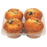 Bakery Fresh Goodness Blueberry Muffins Food Product Image