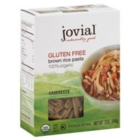 Jovial Brown Rice Pasta Organic Gluten Free Food Product Image