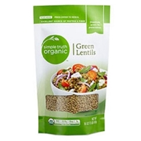 Simple Truth Organic Green Lentils Food Product Image