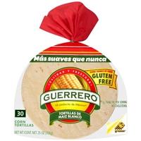 Guerrero Corn Tortillas - 30 CT Food Product Image
