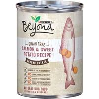 Purina Beyond Grain Free Ground Entree Dog Food Salmon & Sweet Potato Recipe Food Product Image