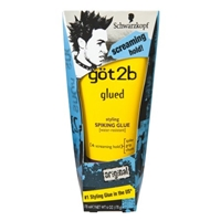 Schwarzkopf Got2b Glued Original 4 Screaming Hold Styling Spiking Glue Food Product Image