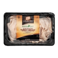 Oscar Mayer Selects Slow Roasted Turkey Breast Browned With Caramelized Sugars Food Product Image