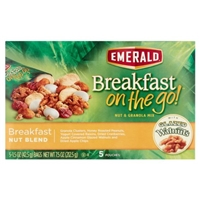 Emerald Breakfast On The Go Breakfast Nut Blend Granola Mix - 5 Ct Food Product Image