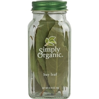Simply Organic Seasoning Bay Leaf Food Product Image