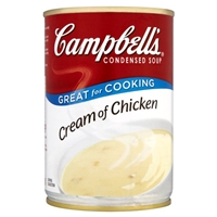 Campbell's Condensed Soup Cream of Chicken Food Product Image