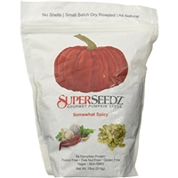 Superseedz Superseedz, Somewhat Spicy Gourmet Pumpkin Seeds Food Product Image