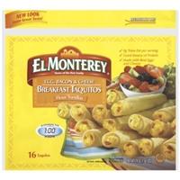 El Monterey Breakfast Taquitos Food Product Image