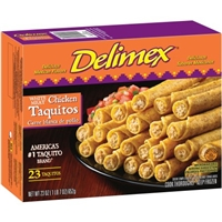 Delimex Chicken Taquitos Food Product Image