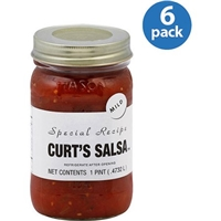 Curt's Salsa Salsa Mild 16 Oz, Food Product Image