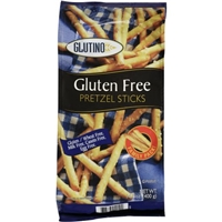 Glutino Gluten Free Pretzel Sticks Food Product Image