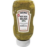 Heinz Hot Dog Relish 12.7 fl. oz. Squeeze Bottle Food Product Image