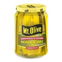 Mt. Olive Kosher Dill Sandwich Stuffers Food Product Image