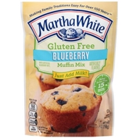 Martha White Gluten Free Blueberry Muffin Mix Food Product Image