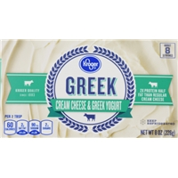 Kroger Greek Cream Cheese Food Product Image