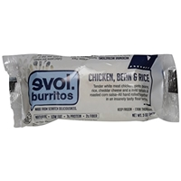Evol Chicken Bean & Rice Burritos Food Product Image