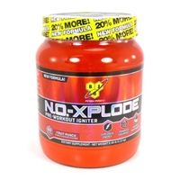 BSN N.O.-XPLODE - Fruit Punch, 2.45 lb (60 servings) Food Product Image