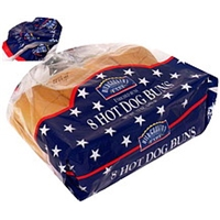 Hill Country Fare Enriched Hot Dog Buns Food Product Image