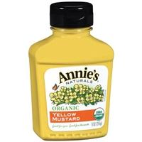 Annie's Organic Yellow Mustard Mustard Food Product Image