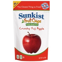Freeze Dry Fuji Apple Slices Food Product Image