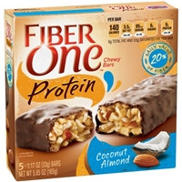 Fiber One Protein Chewy Bars Coconut Almond - 5 CT Food Product Image