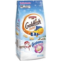 Pepperidge Farm Goldfish Grahams Holiday Vanilla Cupcake Food Product Image
