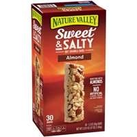 Nature Valley Granola Bars Almond Food Product Image