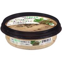The Fresh Hummus Co. Spinach Artichoke Hummus, 12 oz Food Product Image