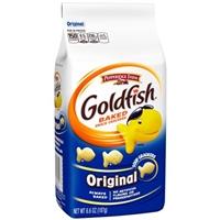 Pepperidge Farm Original Goldfish Baked Snack Crackers Food Product Image