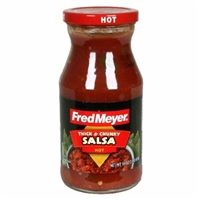 Fred Meyer Thick and Chunky Hot Salsa Food Product Image