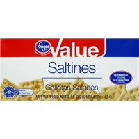 Kroger Value Saltine Crackers Food Product Image