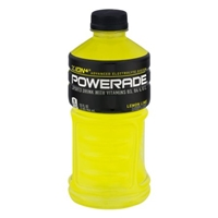 Powerade Ion4 Sports Drink Lemon Lime Food Product Image