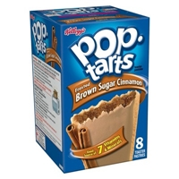 Kellogg's Pop-Tarts Frosted Brown Sugar Cinnamon Pastries 8 ct Food Product Image