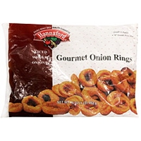 Hannaford Gourmet Onion Rings Food Product Image
