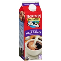 Horizon Organic Half & Half Food Product Image