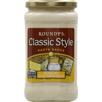 Roundy's Classic Style Pasta Sauce - Alfredo Four Cheese Food Product Image