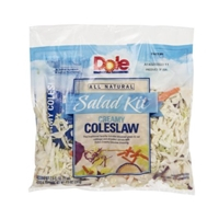 Dole Salad Kit Creamy Coleslaw Food Product Image