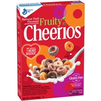 General Mills Cheerios Fruity Cereal Food Product Image