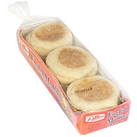 Dillons Premium English Muffins Sour Dough Food Product Image