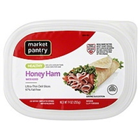 Market Pantry Honey Ham Ham, Honey, Ultra-Thin Deli Slices Food Product Image