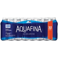 Aquafina Purified Drinking Water 32 PK Food Product Image