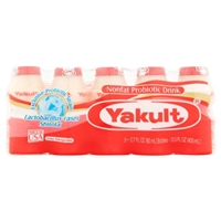 Yakult Cultured Probiotic Drink with Dairy Food Product Image