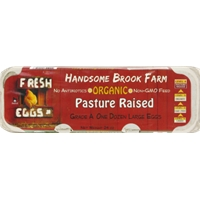 Handsome Brook Farm Pasture Raised Organic Eggs Food Product Image