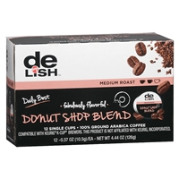 Good & Delish Single Cup Coffee Donut Blend, 12 pk Food Product Image