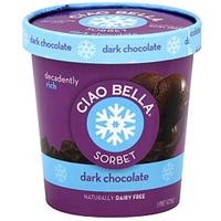 Ciao Bella Sorbet Dark Chocolate Food Product Image