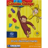 Kroger Curious George Fruit Snacks Food Product Image
